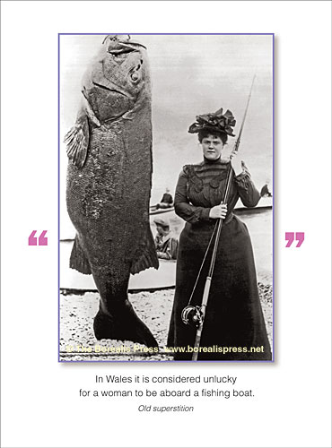 Outdoors cards the borealis press inc birthday card 793hb in wales it is considered unlucky for a woman to be aboard a fishing boat old superstition inside come fish with me happy birthday bookmarktalkfo Gallery
